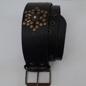 Belt Flower Punches and Studded
